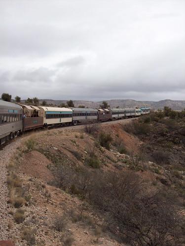 Verde Canyon Railroad chugs along