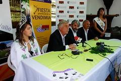 Presentaron la Fiesta Provincial de la Vendimia en Roca