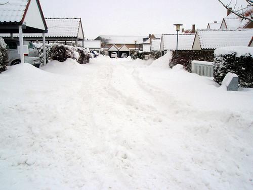 Gluckvej i vinterdress