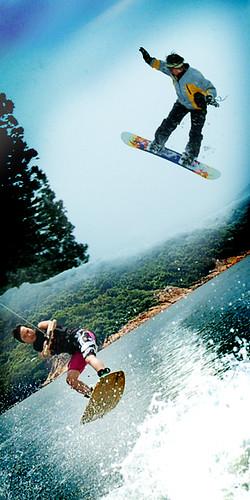 SnowboardXwakeboard