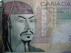 Flickr Defaced Currency Jack Sparrow