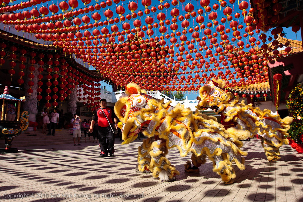 Lion Dance @ Thean Hou Temple, KL, Malaysia