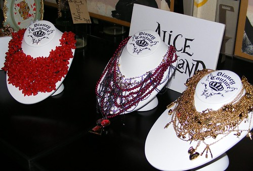 Alice in Wonderland jewellery by Disney Couture