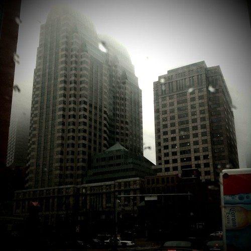 Foggy Boston