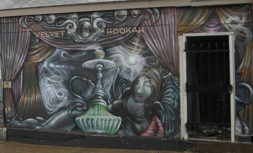 Velvet Hooka Art