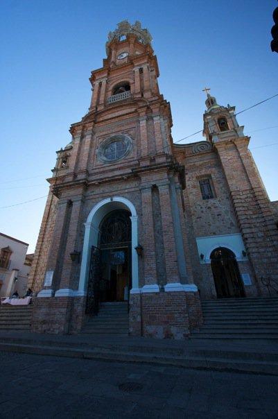 Cathedral in Puerto Vallarta, Mexico