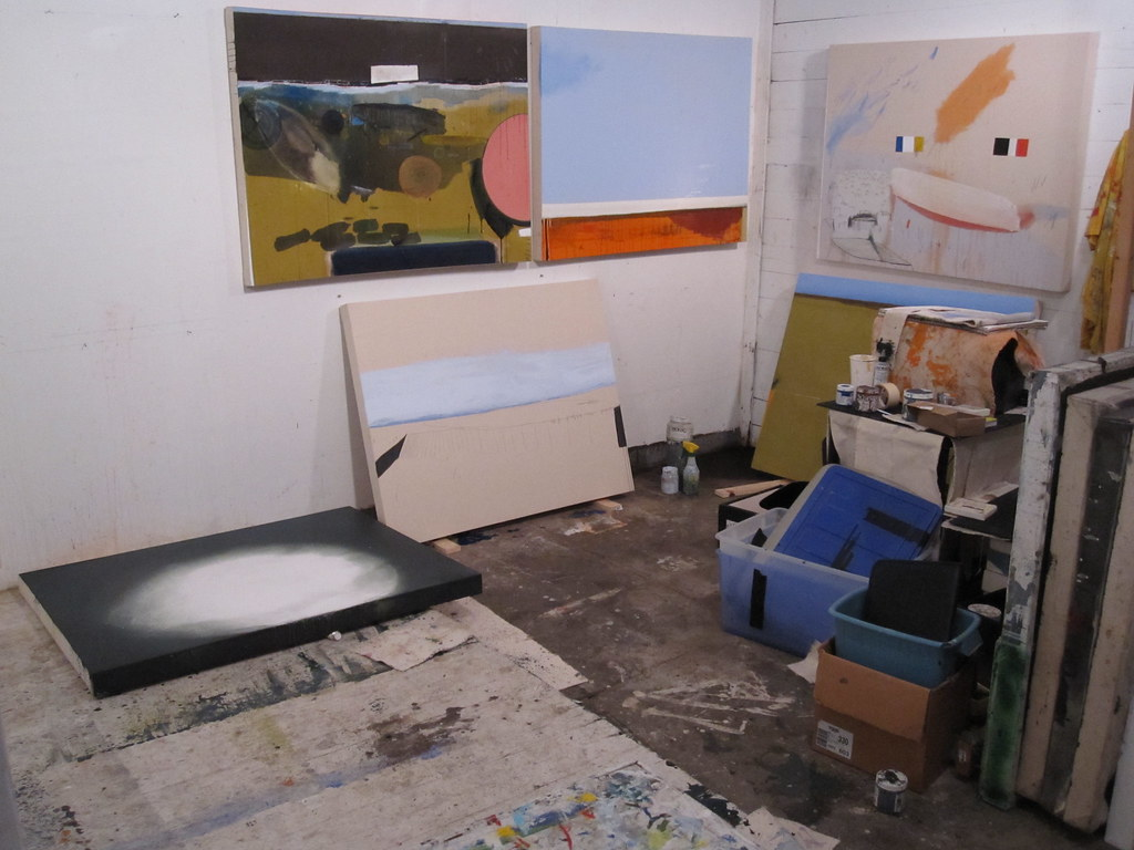 artist/painting studio 2010 March 02