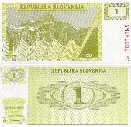 1 Toliar Slovinsko 1990