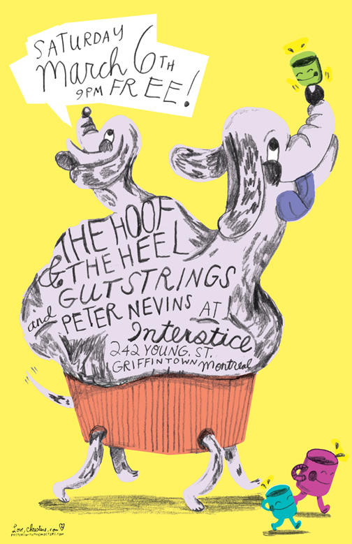 The Hoof And The Heel Poster