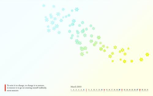 march 2010 desktop wallpaper. Calendar Desktop Wallpaper: