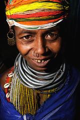 Chonkimudli (Bonda Woman) (Leonid Plotkin) Tags: woman india asia tribal tribe orissa bonda onkadelli