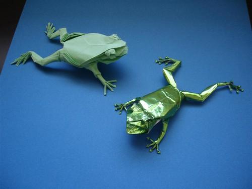 クリスマス 折り紙 カエル 折り紙 : hagifood.com