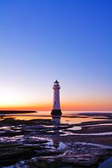 refelction (Stephen McNally / chasmcn) Tags: longexposure sunset lighthouse seascape newbrighton merseyside perchrock