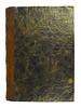 Front cover of binding from Quaestiones naturales antiquorum philosophorum