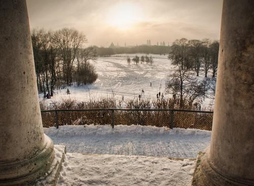 Winter wonderland in Munich