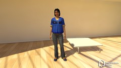 PlayStation Home Tester Female Jersey