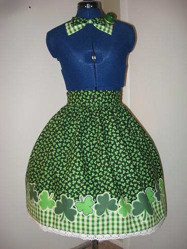 St Patricks Day Skirt 014