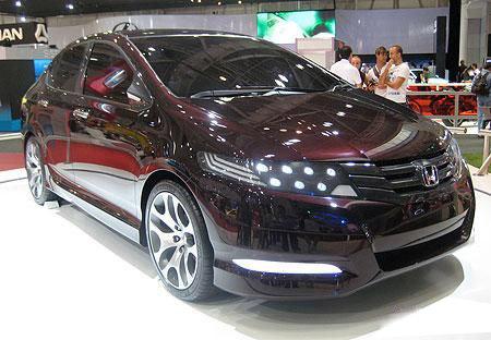 Honda City 2010 Concept Mod Headlight