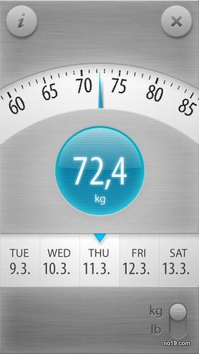 Weight Tracker - Screenshot0089