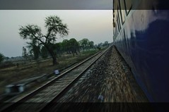 Journey (Dobi.) Tags: india train movement perspective journey locomotives 18mm dobi bastar