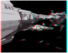 Family Guy - Empire Strikes Back (Anaglyph 3D) (patrick.swinnea) Tags: starwars 3d anaglyph stereoscopicfamilyguy
