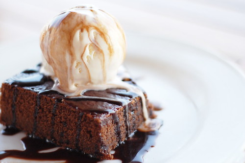 Brownie & Ice-Cream