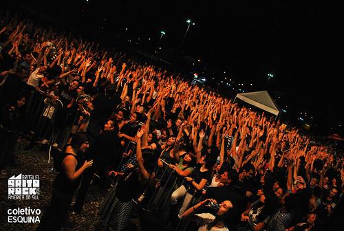 Grito Rock Brasília 2010 - Público por Coletivo  Esquina.