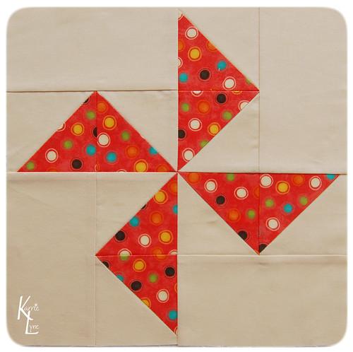 Pinwheel Block #8