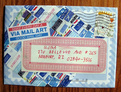 Good mail day mail art!