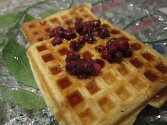 Cornmeal-and-Ricotta Waffles