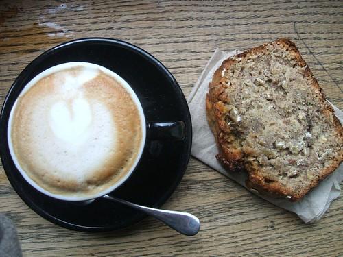 cappuccino&bananabread