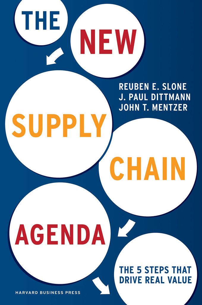 New Supply Chain Agenda by Reuben Slone, J. Paul Dittmann, and John T. Mentzer Web-Ready Jacket Image 72dpi