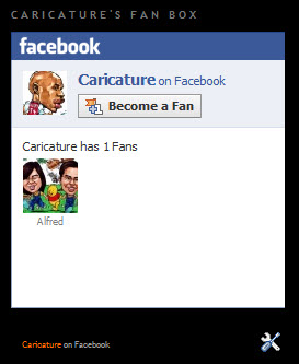 Caricature Fan Box