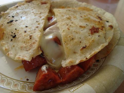 Chorizo Quesadilla @ La Super-Rica Taqueria