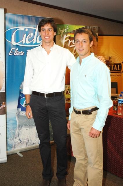 Fernando Roca Rey y Alfonso Simpson
