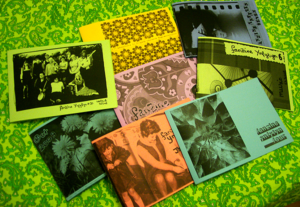 technicolour wonder zines