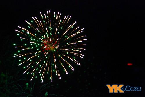 Caribou Carnival Fireworks