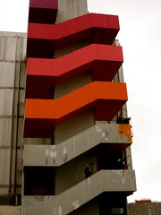 Painting part 5 (Let's Colour) Tags: red orange paris france color colour stairs painting rouge rainbow paint couleurs peinture colourful 93 transform escaliers jeunes aulnay dulux akzonobel volontaires valentine euro letscolor letscolour dulux rscg