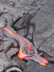 Lava Flow, Hawai'i Volcanoes National Park