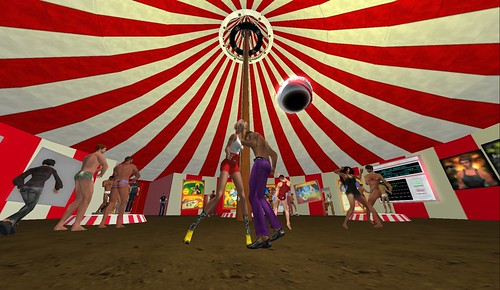 under the big top at jakes club resort