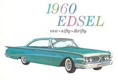 Edsel's last few months (Hugo-90) Tags: auto ford car ads advertising edsel catalog brochure 1960