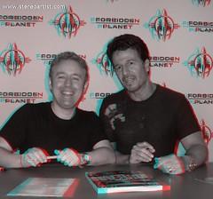 Mark Millar & John Romita Jr - Signing [3D]