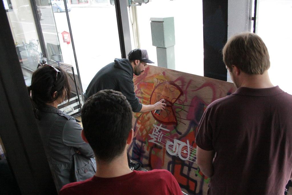 Nate1's 1:AM Art of Graffiti Class