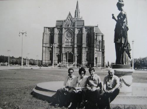 La Catedral de La Plata en 1966