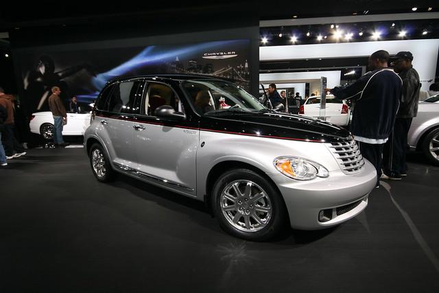 auto show evan cars car automobile michigan north detroit american hayden chrysler pt cruiser naias 2010