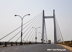 Second Hooghly Bridge (.::Sajid Photography::.) Tags: city bridge india architecture river transport cities twin communication transportation second civilization kolkata development calcutta connect howrah citiscape hooghly