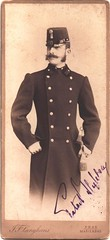Austro-Hungarian Officer (josefnovak33) Tags: old vintage size card photograph officer englisch austrohungarian