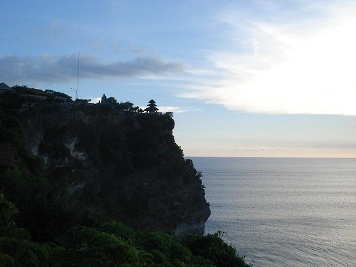 uluwatu at sunset