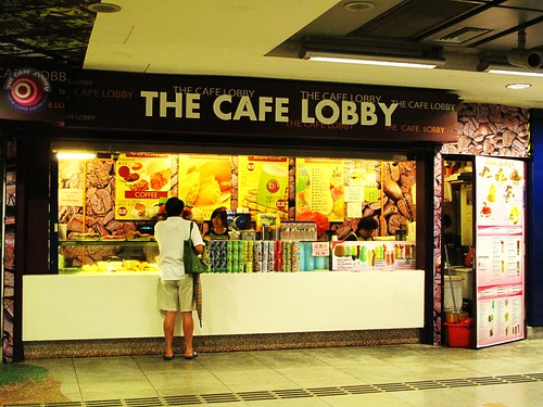 IMG_9984 The Cafe Lobby , Harbour Front MRT Station