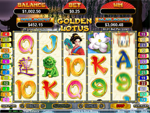 Golden Lotus slot game online review
